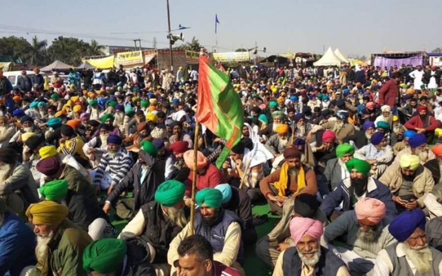 بھارتی کسان مودی سرکار کو بڑی ٹکر دینے کو تیار، ہریانہ سے ایک لاکھ ٹریکٹر لانے کا اعلان