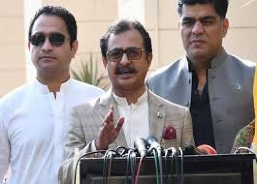 تحریک انصاف کے سندھ اسمبلی میں پارلیمانی لیڈر حلیم عادل شیخ مستعفی