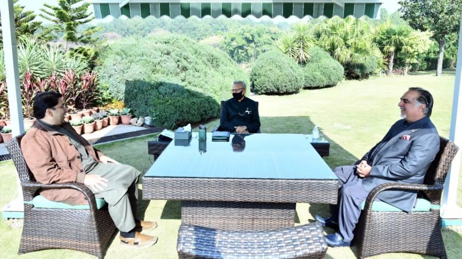 صدر مملکت ڈاکٹر عارف علوی کی گورنر سندھ کو مبارکباد