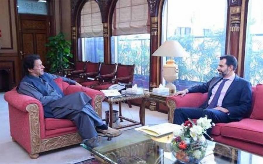 وزیراعظم عمران خان سے گورنر سٹیٹ بینک ڈاکٹر رضا باقر کی ملاقات