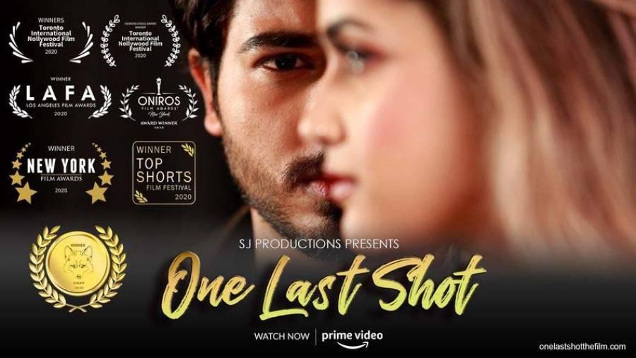 """پاکستانی فلمساز و اداکار صارم جعفری کی شارٹ فلم """" ون لاسٹ شاٹ """" نے بین الاقوامی سطح پر کامیابی سمیٹ لی"""