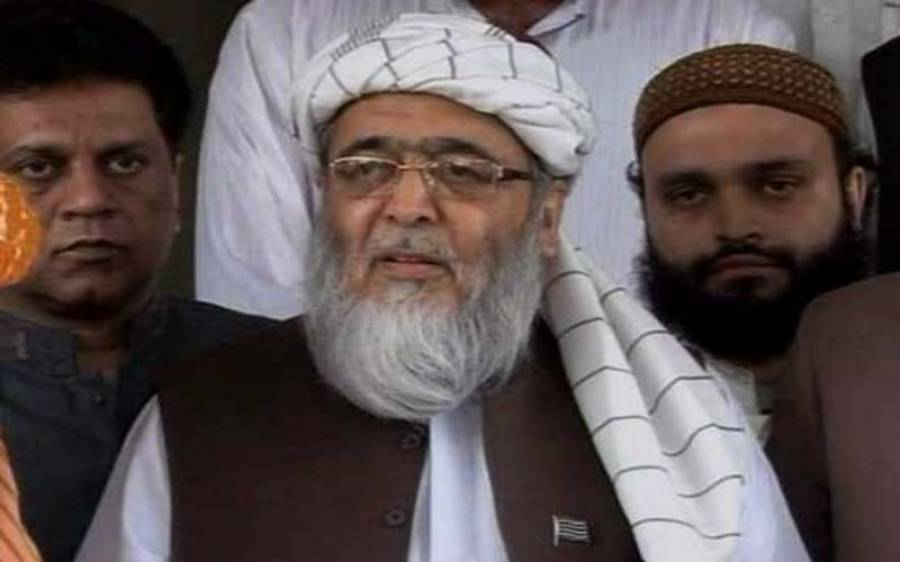 حافظ حسین احمد نے الیکشن کمیشن میں مولانا فضل الرحمان کے خلاف درخواست جمع کرواتے ہوئے بڑا مطالبہ کردیا