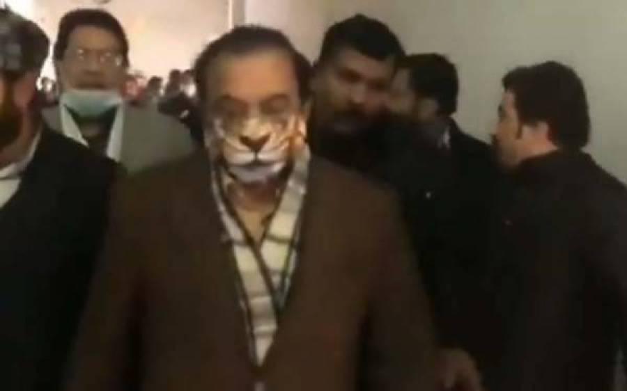 شیر کے نشان والا ماسک پہننے میں کوئی غیر معمولی بات نہیں ، رانا ثنا اللہ