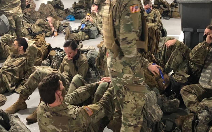 امریکی صدر کی سکیورٹی کیلئے آنے والے نیشنل گارڈز خود غیر محفوظ، انتہائی خطرناک بیماری میں مبتلا ہوگئے