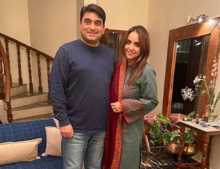 دوست کی شادی کی سالگرہ، نادیہ خان کی اپنے شوہر کیساتھ تصاویر سامنے آگئیں