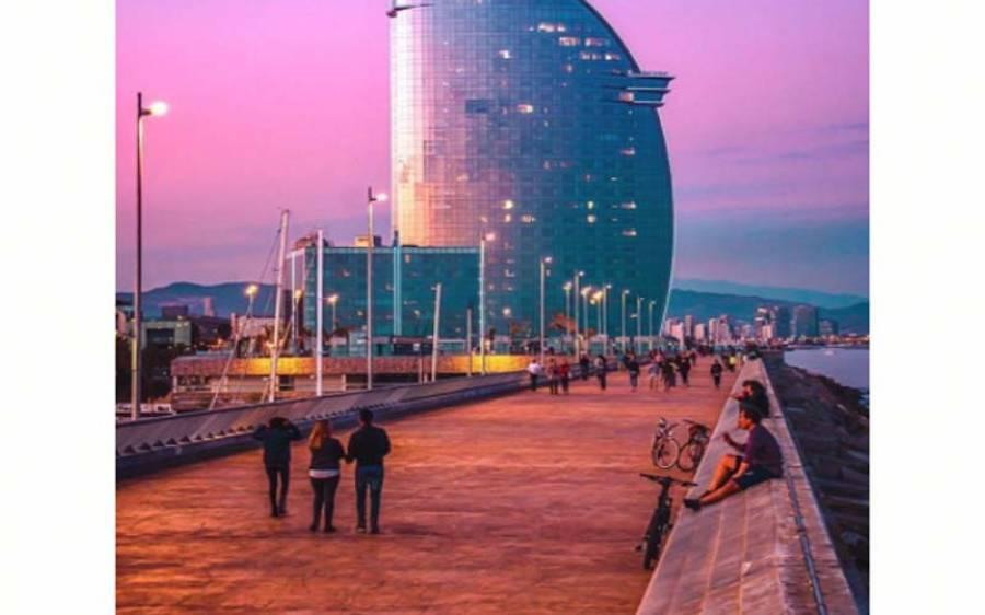 سپین میں کورونا لاک ڈاون ,تجارتی سیکٹر بد حالی کا شکار