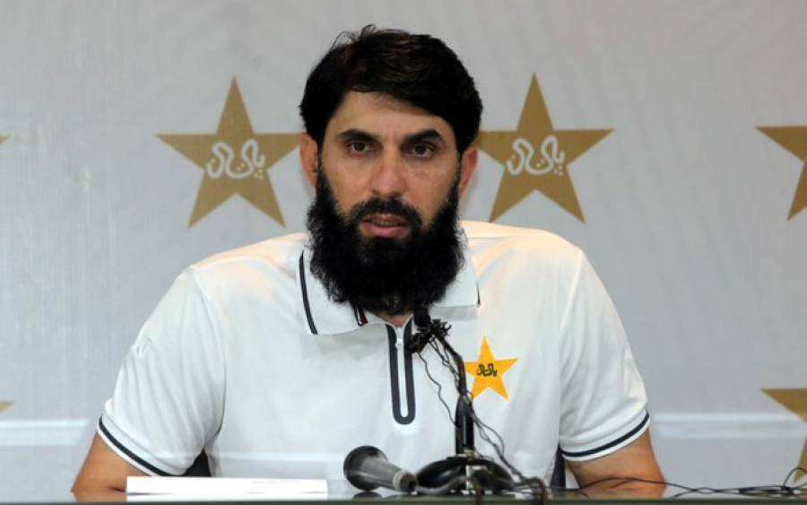 'میں قومی ٹیم کی کارکردگی سے مطمئن نہیں' مصباح الحق نے بالآخر حقیقت تسلیم کر لی