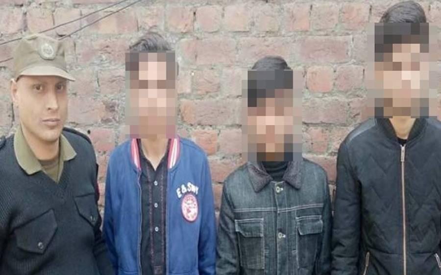 سوشل میڈیا پر قتل کی دھمکیاں دینا مہنگا پڑ گیا،تین 'کم سن بدمعاش' حوالات پہنچ گئے