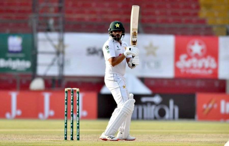 پاکستان بمقابلہ جنوبی افریقہ ،پہلے ٹیسٹ کے دوسرے روز فواد عالم نے پاکستان کی پوزیشن مستحکم کردی