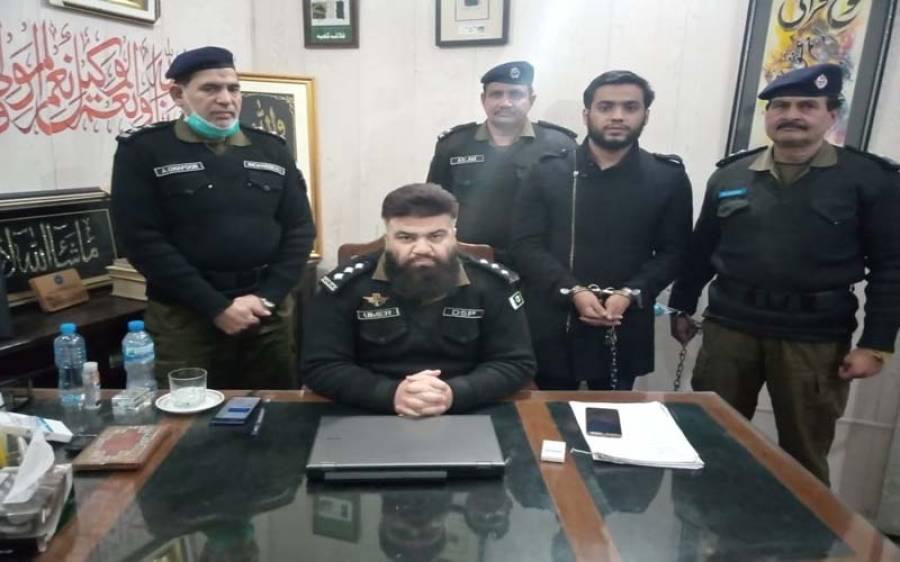 د ہشت گردی،اقدام قتل اور بھتہ خوری کی وارداتوں میں انتہائی مطلوب اشتہاری ملزم گرفتار
