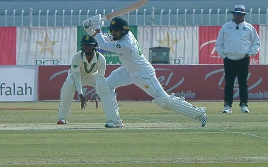 راولپنڈی ٹیسٹ، قومی ٹیم پہلی اننگز میں 272 رنز بنا کر آؤٹ ہو گئی