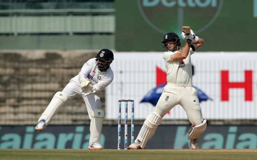 انڈیا بمقابلہ انگلینڈ، ٹیسٹ میچ کے پہلے دن کا کھیل ختم،انگلینڈ کو واضح برتری