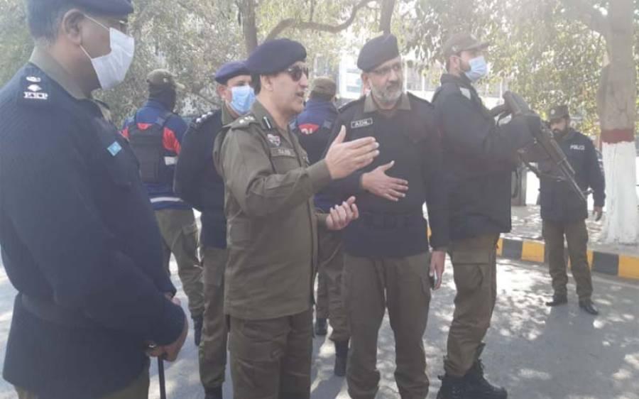 ڈی آئی جی آپریشنز کی ہدایت پریومِ یکجہتی کشمیرکے موقع پر لاہورپولیس کے فول پروف سیکیورٹی انتظامات