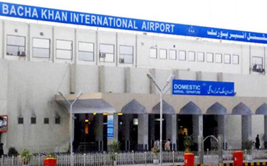 باچا خان ایئر پورٹ پر موبائل سمگلنگ کی کوشش ناکام،ملزم گرفتار