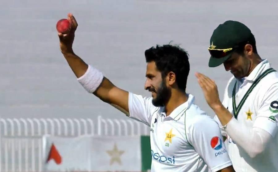 راولپنڈی ٹیسٹ، حسن علی کی تباہ کن باؤلنگ، پروٹیز پہلی اننگز میں 201 رنز پر آؤٹ