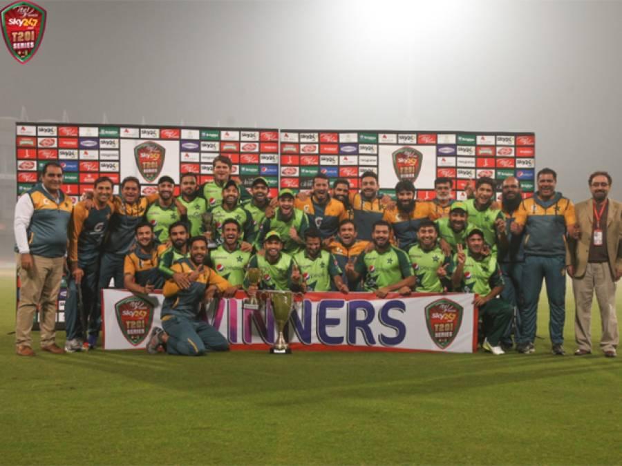 ٹی 20 میں سوویں جیت پاکستان کے نام
