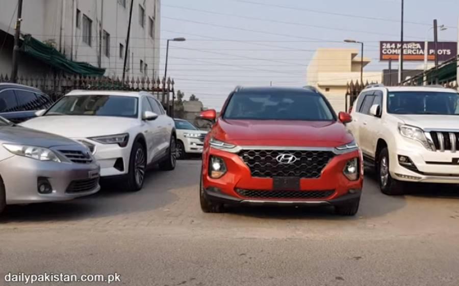 Kiaکے بعد Hyundai کی بھی 7 سیٹر گاڑی Santa Fe آگئی، اسکی قیمت اور خصوصیات جانئے