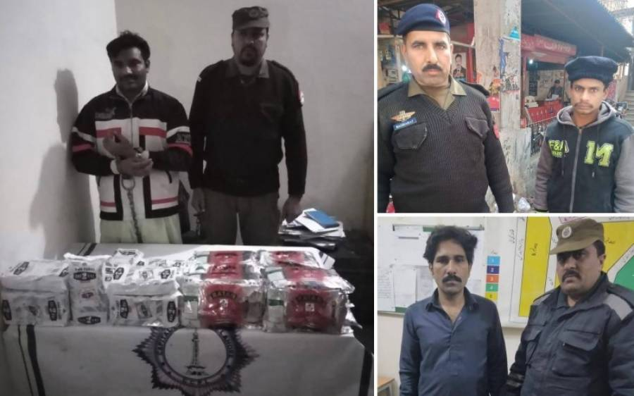 لوہاری گیٹ پولیس نے 4جرائم پیشہ ملزمان کو گرفتار کرلیا
