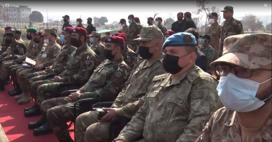 پاک ترک مشترکہ مشقیں اختتام پذیر ، دونوں ممالک کی افواج کی جانب سے کارکردگی کا شاندار مظاہرہ