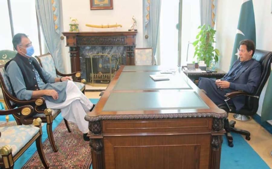 وزیراعظم عمران خان سےاسدقیصر اور اسد عمر کی ملاقات، اہم معاملات پر تبادلہ خیال