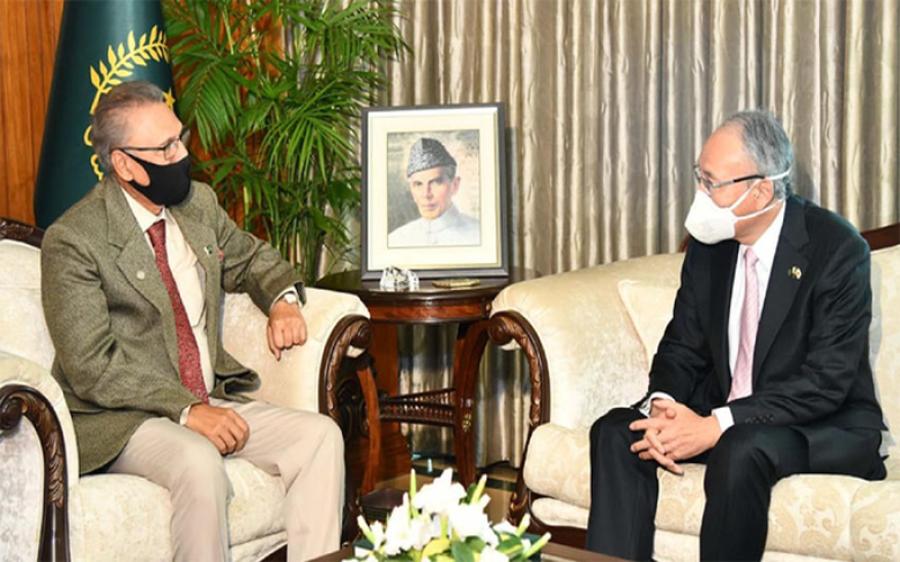 پاکستان جاپان سے تعلقات کو اہمیت دیتا ہے: صدر مملکت ڈاکٹر عارف علوی