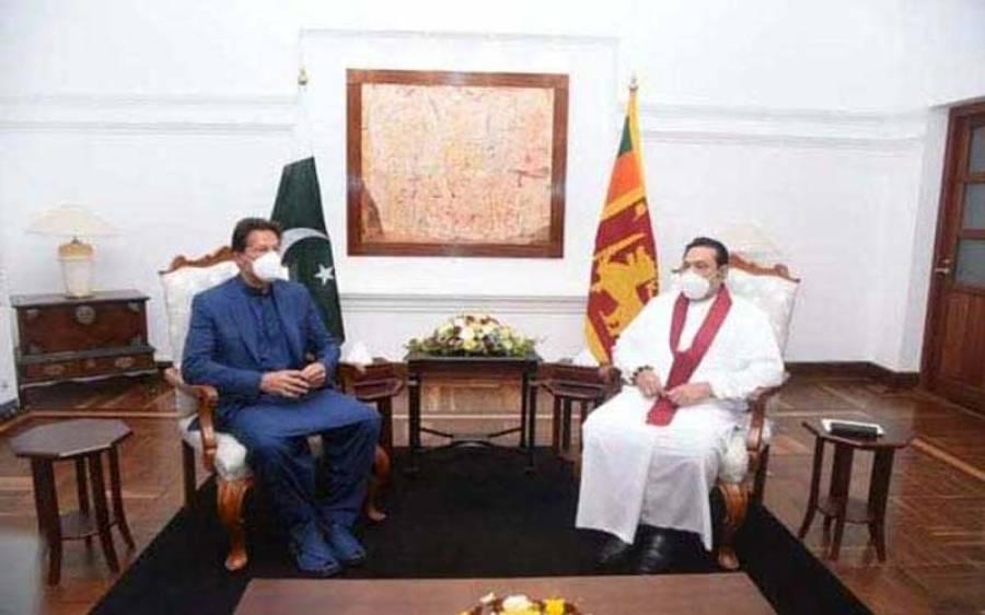 'دہشت گردی کے خلاف پاکستان نے 70ہزار جانیں گنوائیں' وزیراعظم عمران خان کی سری لنکن ہم منصب کے ہمراہ مشترکہ نیوز کانفرنس