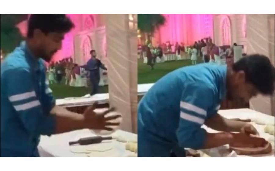 شادی کی تقریب کیلئے کھانا تیار کرنیوالے شخص کی انتہائی شرمناک ویڈیو وائرل، کسی بھی تقریب میں شرکت سے پہلے یہ خبر ضرورپڑھ لیں