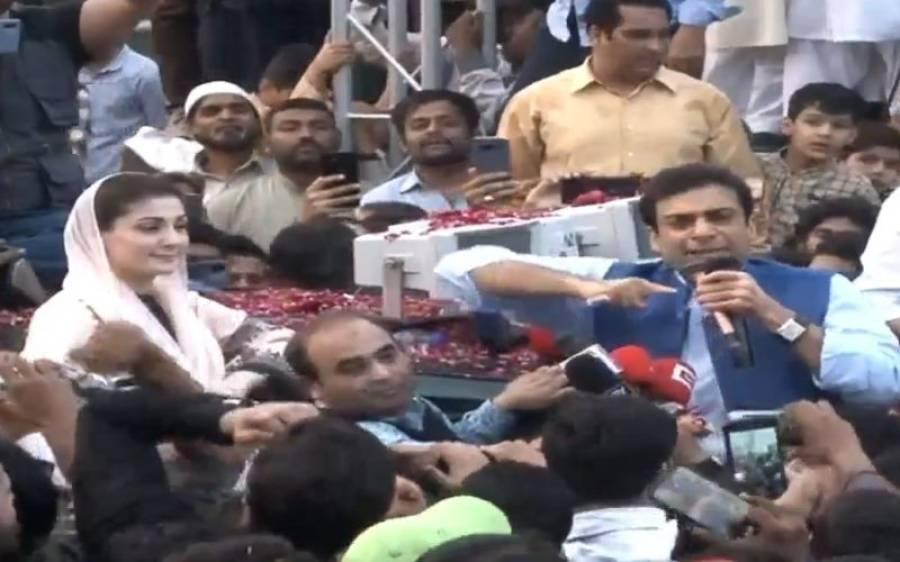 جیل سے رہائی کے بعد حمزہ شہباز عمران خان پر برس پڑے، بڑے الزامات عائد کردئیے