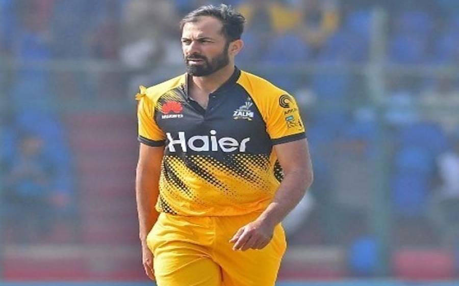 پشاور زلمی کے کپتان وہاب ریاض کی شاندار باؤلنگ ، ناقدین کو خاموش کروادیا