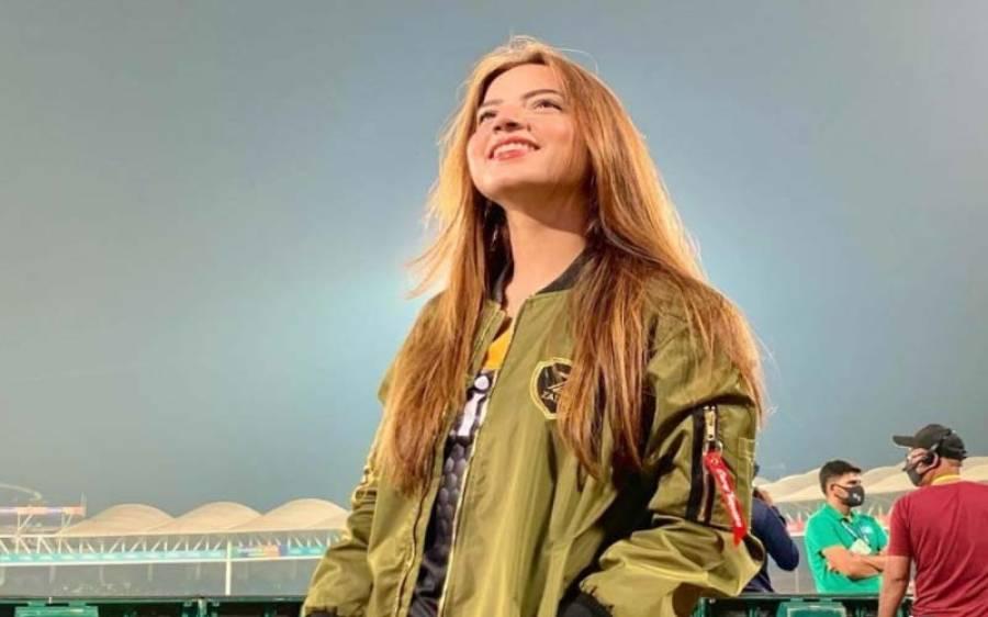 دنا نیر آج سٹیڈیم میں کیسی لگ رہی تھیں ،تصاویر سامنے آگئیں