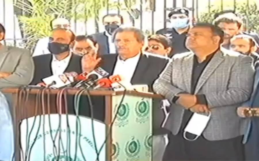 حکومتی رہنماؤں کی چیف الیکشن کمشنر سے ملاقات میں کیا باتیں ہوئیں؟ شفقت محمود نے تفصیل بتادی