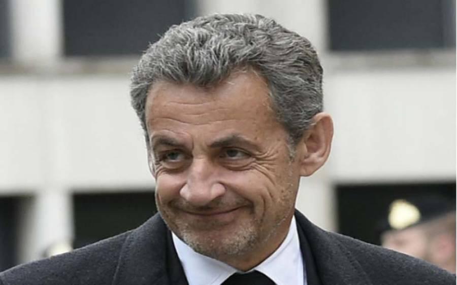 فرانس کے سابق صدر نکولس سرکوزی کو کرپشن ثابت ہونے پرسزا سنا دی گئی