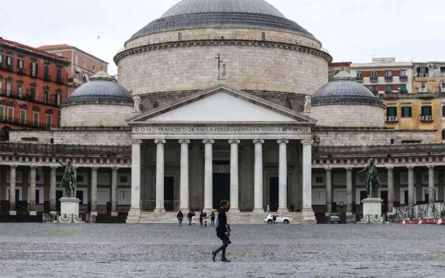 اٹلی میں کورونا کیسز کی تعداد میں اضافے کے باعث مزید تین علاقوں میں سخت پابندیاں نافذ