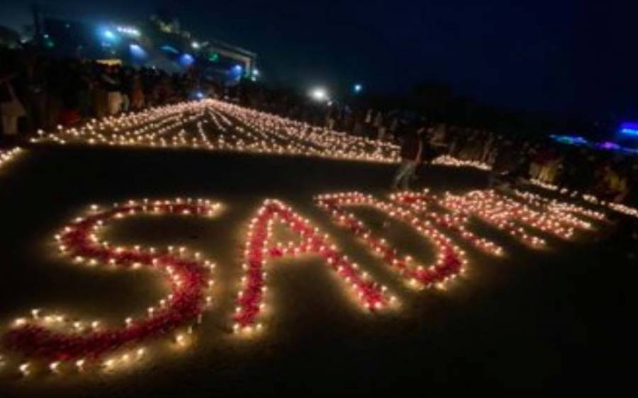 اسلام آباد میں محمد علی سدپارہ کو خراج عقیدت پیش کرنے کے لیے شمعیں روشن کرنے کی تقریب ،ہزاروں افراد کی شرکت