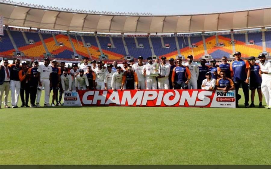انگلینڈ سے ٹیسٹ سیریز جیتتے ہی بھارت نے ایک اور اہم ترین ہدف حاصل کرلیا