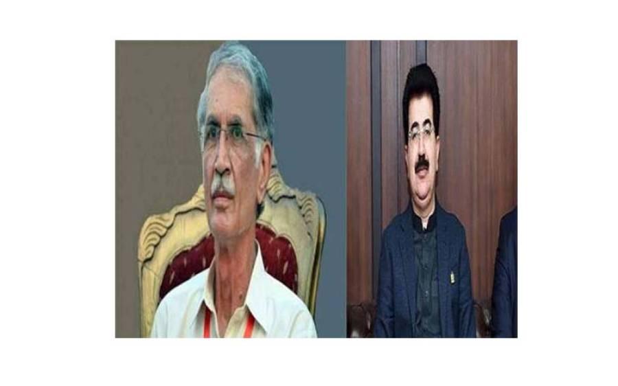 پرویز خٹک اور صادق سنجرانی پی ڈی ایم میں شامل اہم جماعت کے پاس پہنچ گئے