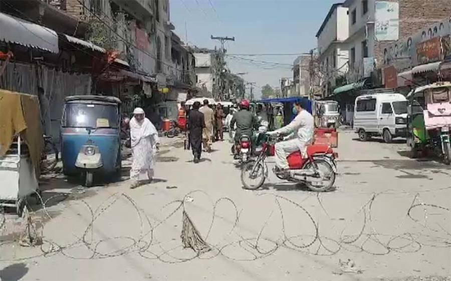 پشاور، کورونا کا پھیلاؤ روکنے کیلئے مائیکرو سمارٹ لاک ڈاؤن کا فیصلہ
