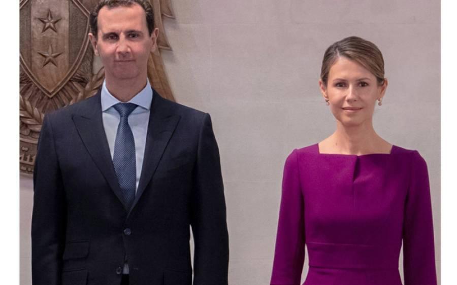 شام کے صدر اور ان کی اہلیہ خطرناک بیماری میں مبتلا ہوگئے