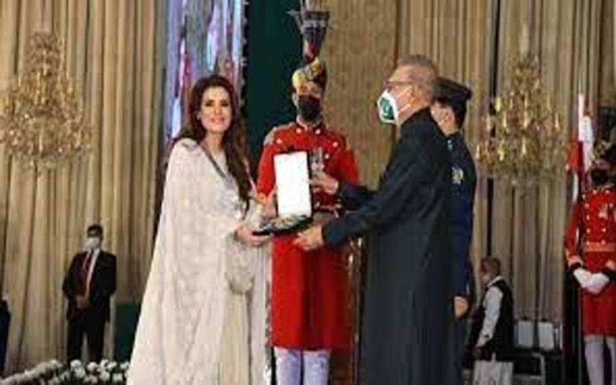 صدارتی ایوارڈ ملنے پر تنقید ، ریشم کا سینئر اداکارہ سکینہ سموں کو کرارا جواب