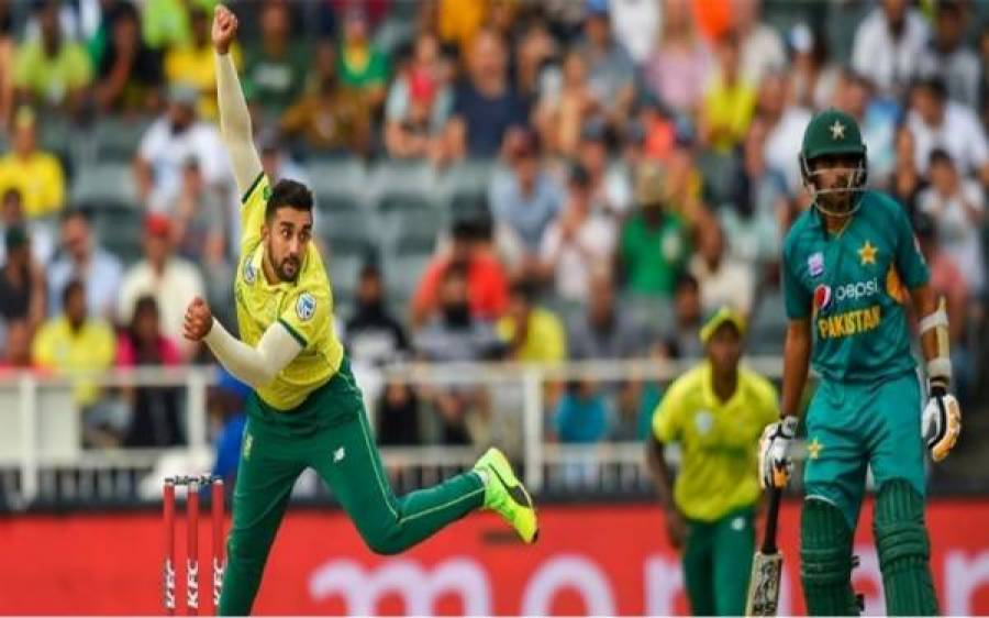 دوسرا ون ڈے،جنوبی افریقہ نے پاکستا ن کو جیت کے لئے 342رنز کا ہدف دے دیا