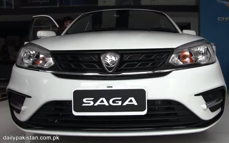 پروٹون نے Saga گاڑی پاکستان میں لانچ کر دی، اس کی قیمت اور فیچرز جانیے