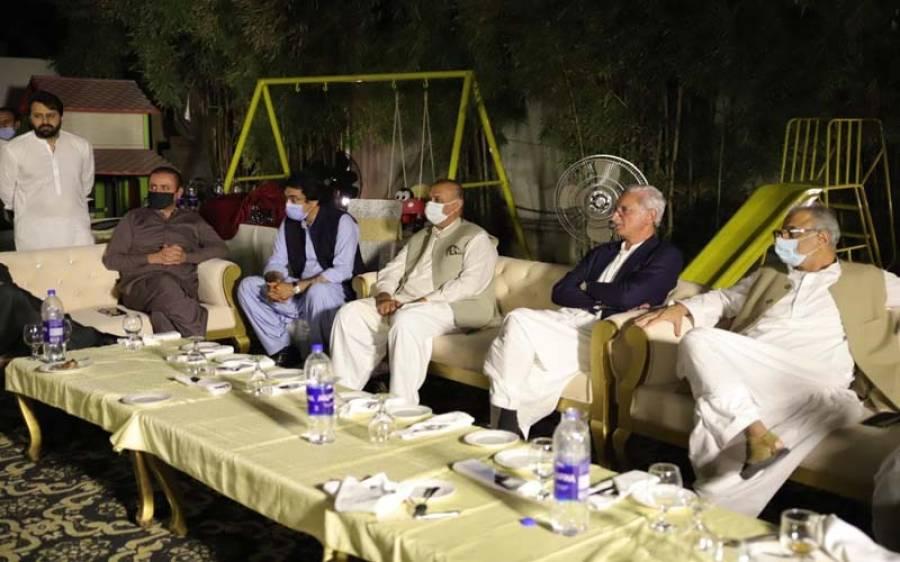 جہانگیر ترین کا عشائیہ، کن وزرا اور اراکین اسمبلی نے شرکت کی؟ اہم تفصیلات سامنے آگئیں