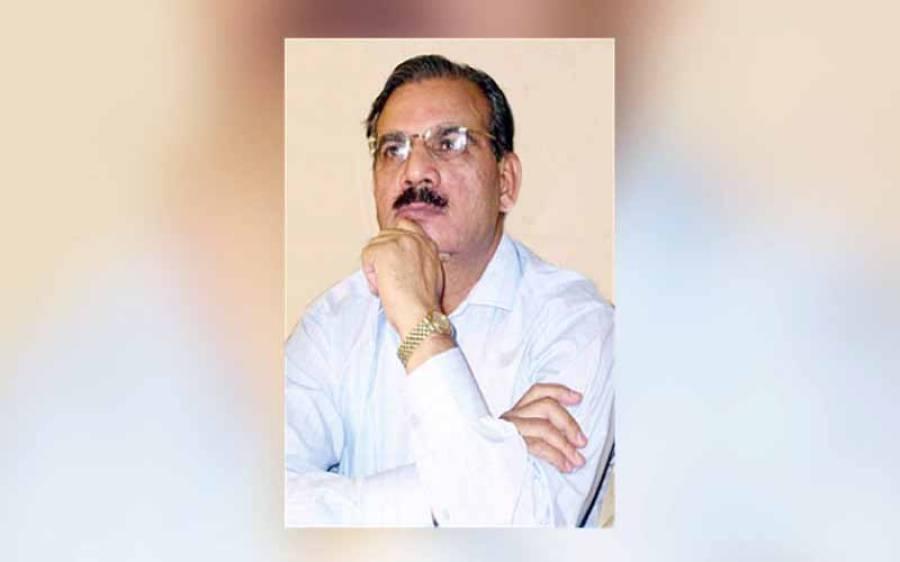 سینئر صحافی ، خبریں اخبار کے ایڈیٹر انچیف ضیا شاہد انتقال کرگئے