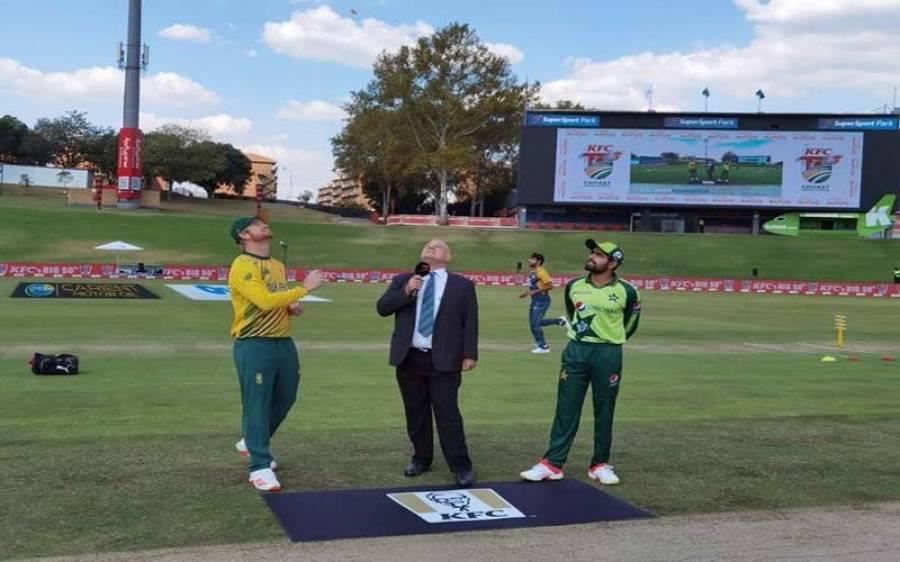 جنوبی افریقہ بمقابلہ پاکستان ، تیسرے ٹی 20 میچ کا ٹاس ہوگیا، پاکستان کی جانب سے ٹیم میں اہم تبدیلیاں