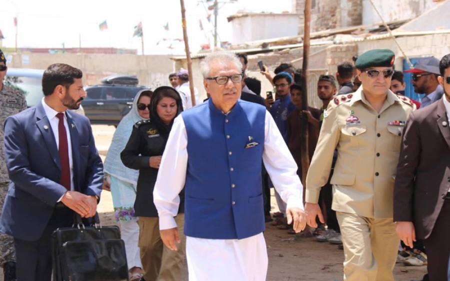 صدرمملکت ڈاکٹرعارف علوی سے وفاقی انشورنس محتسب ڈاکٹر محمد خاور جمیل کی ملاقات
