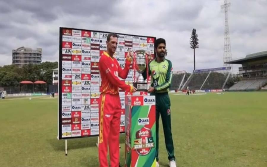 زمبابوے بمقابلہ پاکستان ، سیریز ٹرافی کی تقریب رونمائی ہوگئی، پی سی بی نے ویڈیو جاری کردی