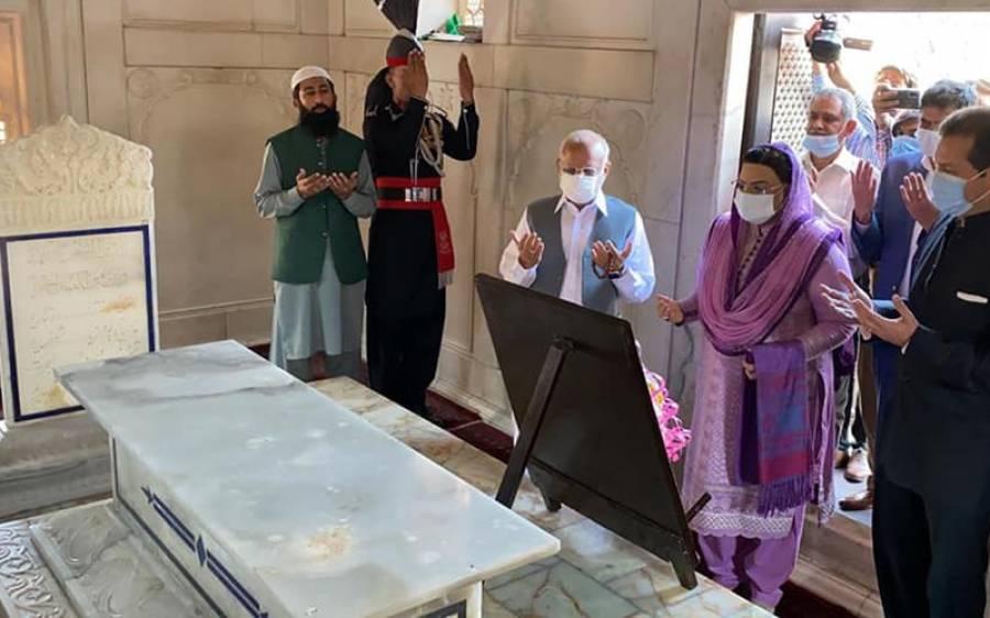 'عشق رسولﷺ کا دعویٰ لے کر اٹھنے والوں کو مفکر پاکستان کی پیروی کرنی چاہئے ' سینیٹراعجاز چوہدری کا مشورہ