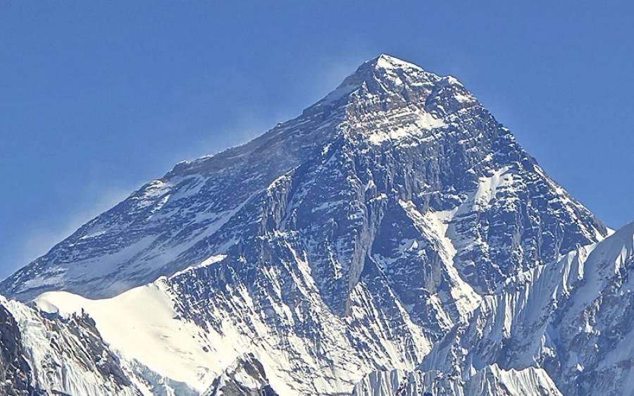 دنیا کی بلند ترین چوٹی ' ماونٹ ایورسٹ ' پر کورونا کا پہلا کیس سامنے آ گیا