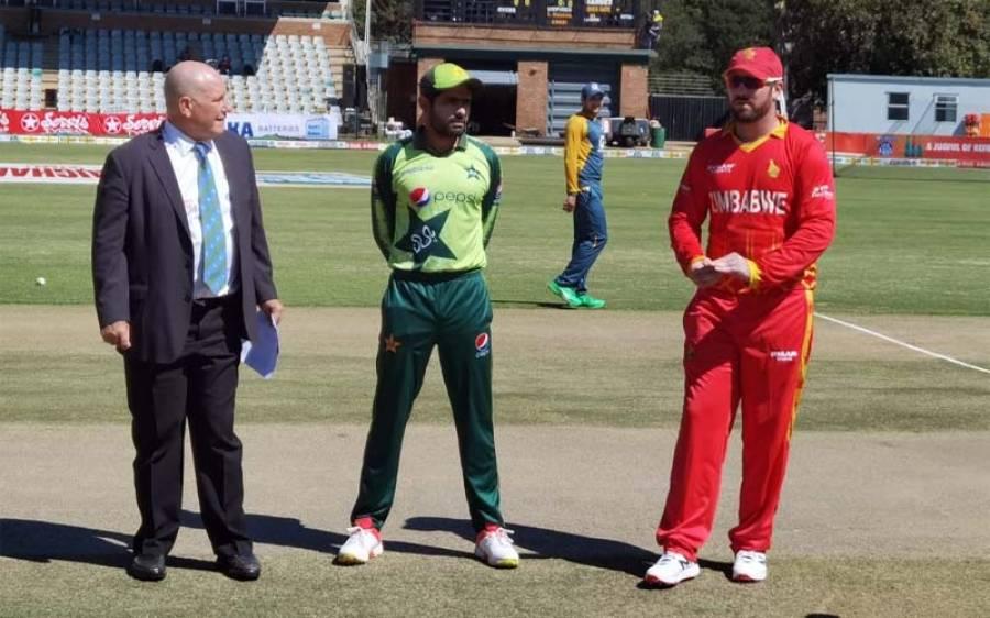 دوسرا ٹی ٹوینٹی ، زمبابوے نے پاکستان کو جیت کیلئے ہدف دے دیا