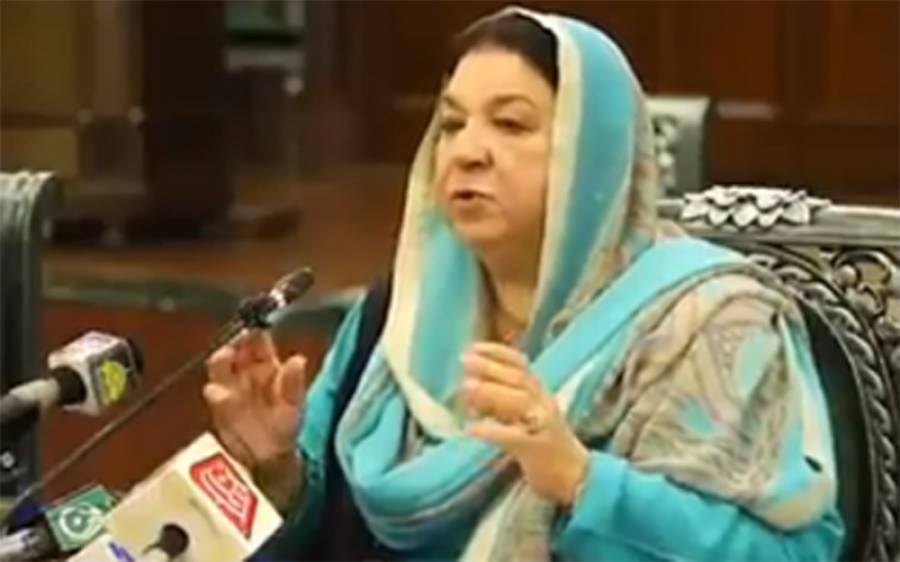لاہور میں مثبت کیسز کی شرح 19فیصد،آکسیجن کی صورتحال تسلی بخش ہے ،ڈاکٹر یاسمین راشد